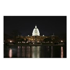 Capitol Night Reflection Postcards (Package of 8)