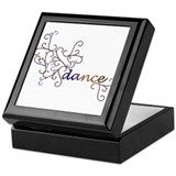Dance Vines Keepsake Box