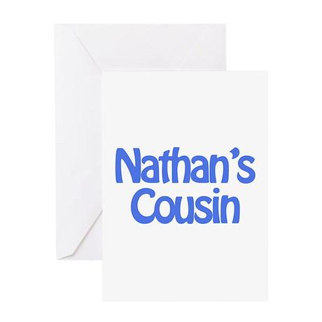 Nathan's Cousin Greeting Card