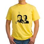 Ron gives Hillary the rabbit ea Yellow T-Shirt