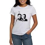 Ron gives Hillary the rabbit ea Women's T-Shirt