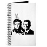 Ron gives Hillary the rabbit ea Journal
