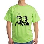 Ron gives Hillary the rabbit ea Green T-Shirt