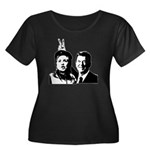 Ron gives Hillary the rabbit ea Women's Plus Size