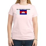 YES I HAVE BEEN TO CAMBODIA T-Shirt