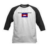 MADE IN US WITH CAMBODIAN PAR Tee