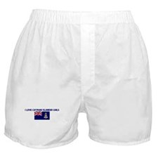 I LOVE CAYMAN ISLANDER GIRLS Boxer Shorts