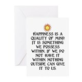HAPPINESS.. Greeting Cards (Pk of 10)