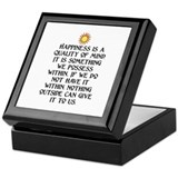 HAPPINESS.. Keepsake Box