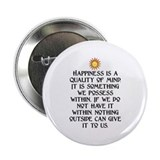 "HAPPINESS.. 2.25"" Button"