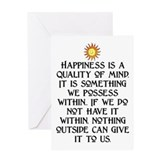 HAPPINESS.. Greeting Card