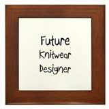Future Knitwear Designer Framed Tile