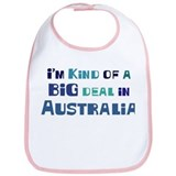 Big Deal in Australia Bib