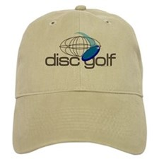 Disc Golf 3 Baseball Cap