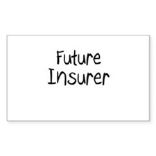 Future Insurer Rectangle Decal