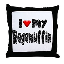 Ragamuffin Throw Pillow