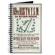 69th Irish Regiment Recruitment Poster Journal