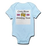 Costa Rican Drinking Team Infant Bodysuit