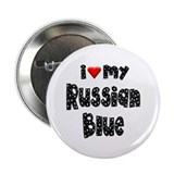 "Russian Blue 2.25"" Button (100 pack)"