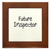 Future Inspector Framed Tile
