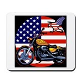 Patriotic Chopper Mousepad