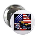 "Patriotic Chopper 2.25"" Button"