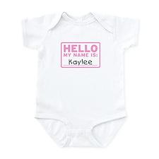 Hello My Name Is: Kaylee - Infant Bodysuit