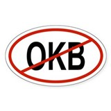 OKB Oval Decal