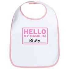 Hello My Name Is: Riley - Bib
