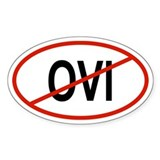 OVI Oval Decal