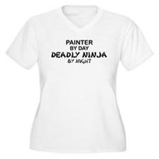 Painter Deadly Ninja T-Shirt