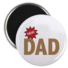 New Dad First Time Family Magnet