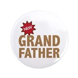 "New Grandfather Grandchild Family 3.5"" Button"