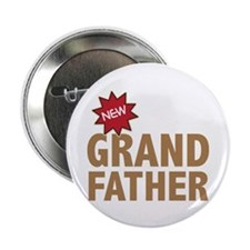 "New Grandfather Grandchild Family 2.25"" Button (10"