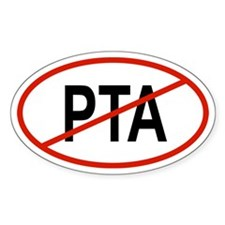 PTA Oval Decal