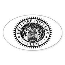 Hellfire Potters Club Oval Decal
