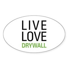 Live Love Drywall Decal