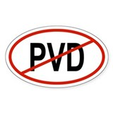PVD Oval Decal