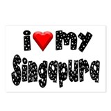 Singapura Postcards (Package of 8)