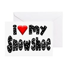 Snowshoe Greeting Cards (Pk of 10)