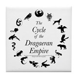 Dragaeran Cycle Tile Coaster