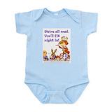 Alice in wonderland baby clothes Bodysuits