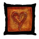 Allison's Heart Throw Pillow