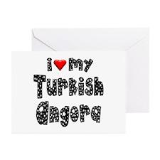 Turkish Angora Greeting Cards (Pk of 10)