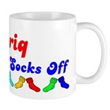 Tariq Rocks Socks (B) Small Mug