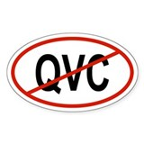 QVC Oval Decal