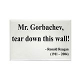 Ronald Reagan 17 Rectangle Magnet (10 pack)