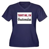 Trusty Me I'm Guatemalan Women's Plus Size V-Neck