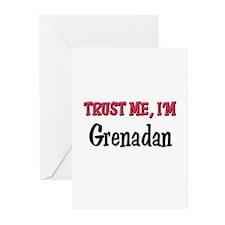 Trusty Me I'm Grenadan Greeting Cards (Pk of 10)