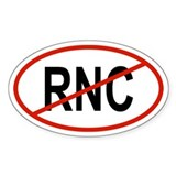 RNC Oval Decal
